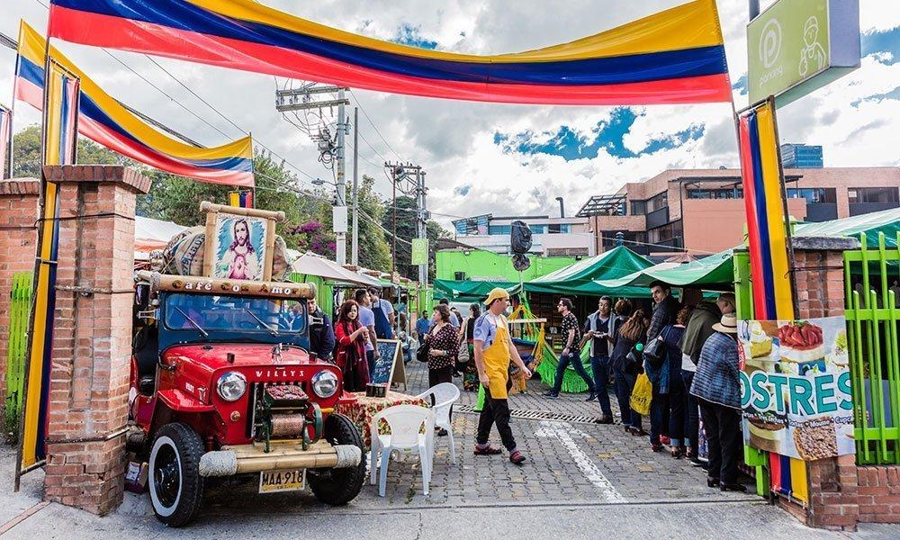 Bogota Mercado de Pulgas