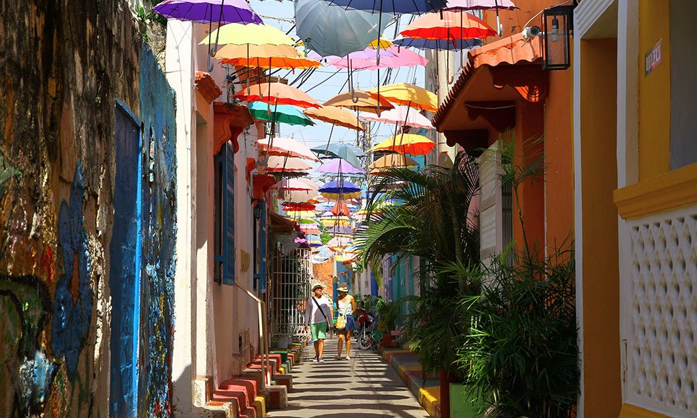 Cartagena de Indias Callejón Angosto