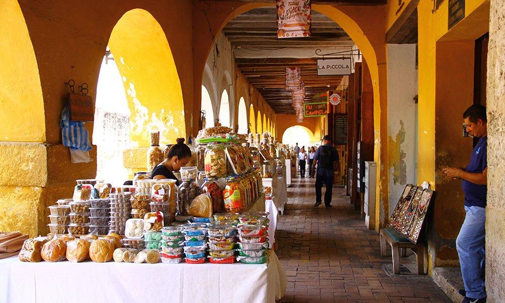 Cartagena de Indias. Portal de los Dulces