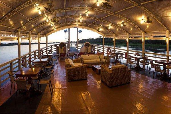 Crucero Amazonas Cubierta