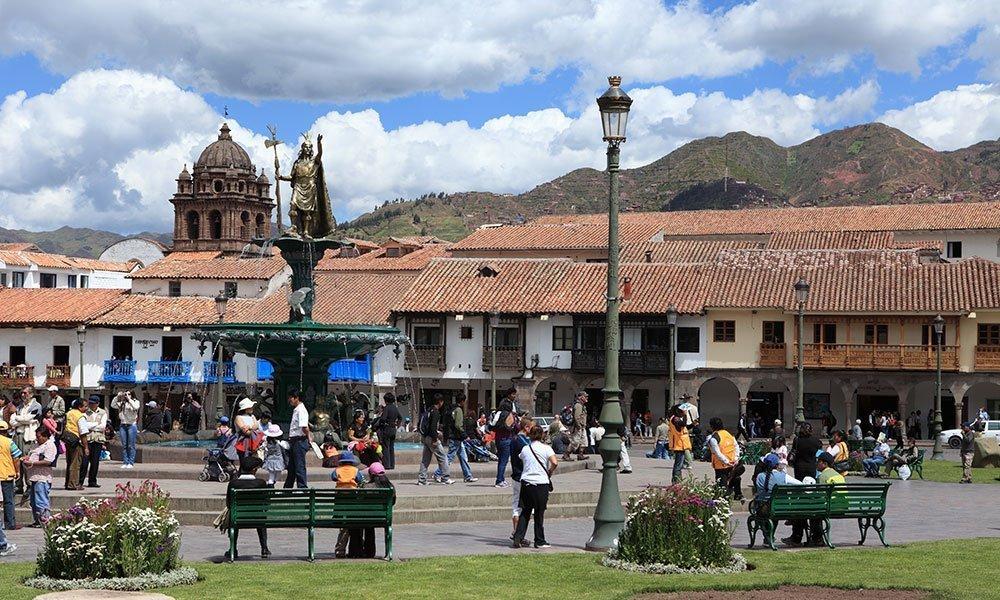 Plaza Cuzco Perú